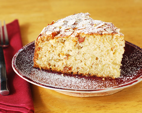Almond and Ricotta Cheese Cake