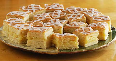 Frosted Pineapple Squares