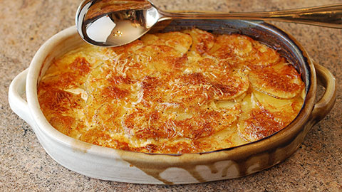 Potatoes Dauphinois