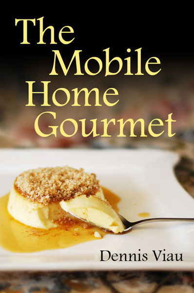 Cookbook White Cover : My free cookbook mobile home gourmet